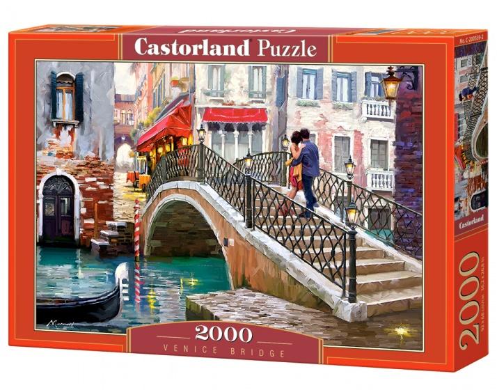 Castorland legpuzzel Venice Bridge 2000 stukjes
