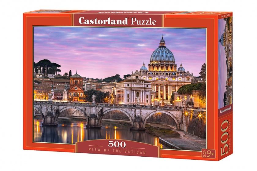 Castorland legpuzzel View of the Vatican 500 stukjes