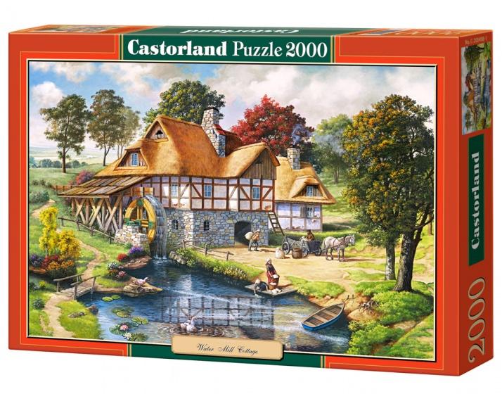 Castorland legpuzzel Water Mill Cottage 2000 stukjes