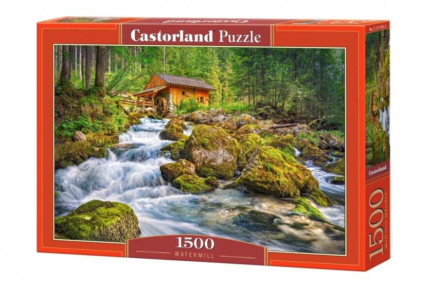 Castorland legpuzzel Watermill 1500 stukjes