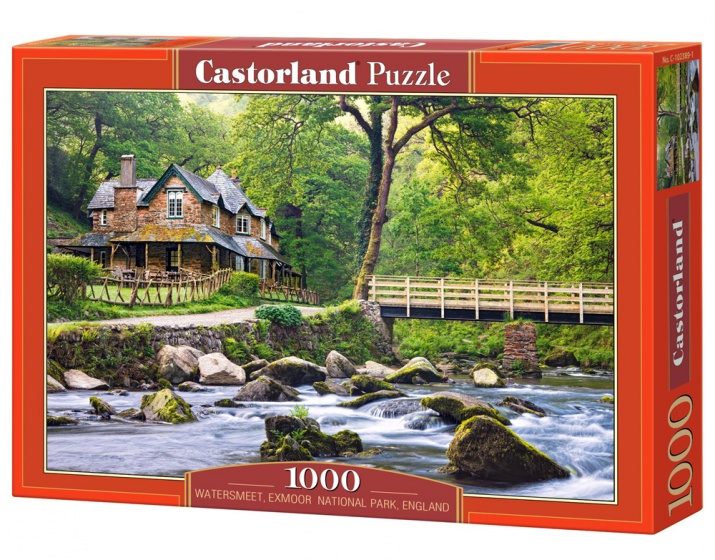 Castorland legpuzzel Watersmeet, National Park, England 1000 stukjes