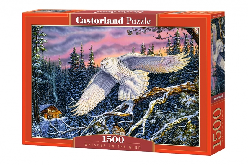 Castorland legpuzzel Whisper on the wind 1500 stukjes