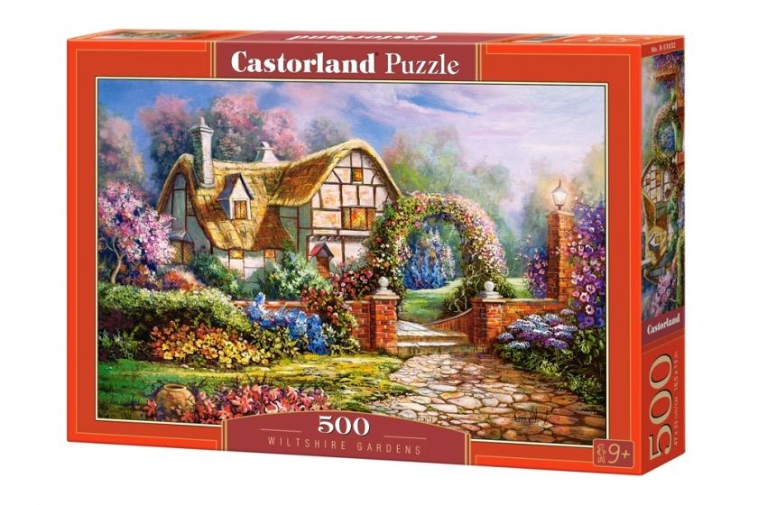 Castorland legpuzzel wiltshire gardens 500 stukjes 255139