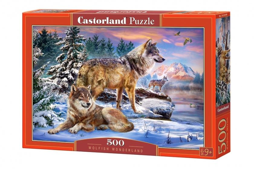 Castorland legpuzzel wolfish wonderland 500 stukjes 255141
