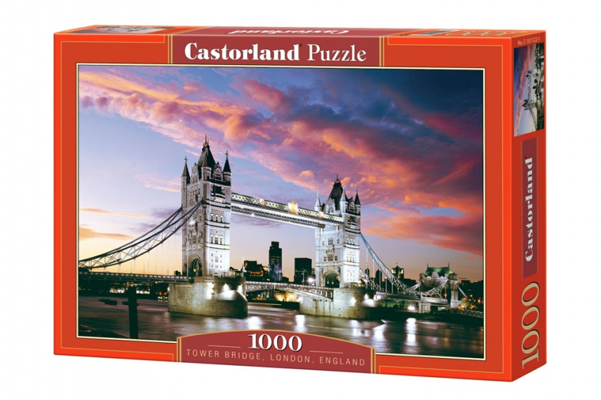 Castorland legpuzzel Tower Bridge, London, England 1000 stukjes