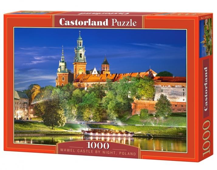 Castorland Wawel Castle by Night, Poland 1000 stukjes