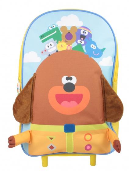 CBeebies trolley rugzak Hey Duggee junior 9 liter multicolor