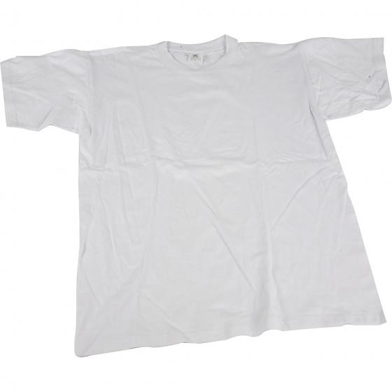 Creotime t shirt junior 32 cm katoen wit maat 104