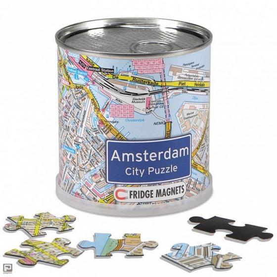 Channel Distribution magneetpuzzel City Puzzle Amsterdam 100 stukjes