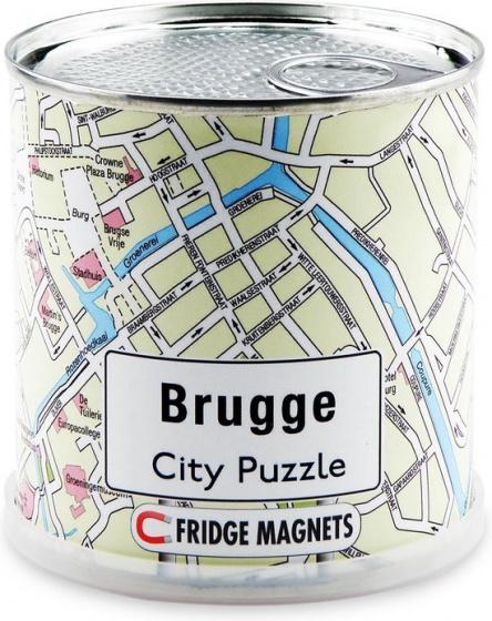 Channel Distribution magneetpuzzel City Puzzle Brugge 100 stukjes