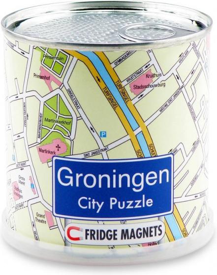 Channel Distribution magneetpuzzel City Puzzle Groningen 100 stukjes