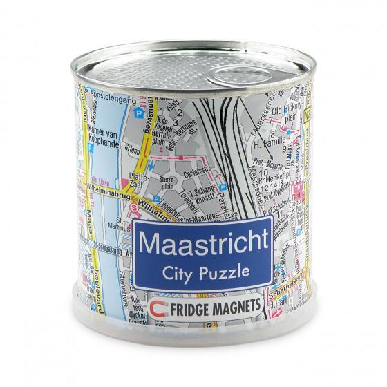 Channel Distribution magneetpuzzel City Puzzle Maastricht 100 stukjes