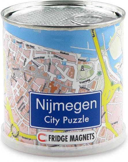Channel Distribution magneetpuzzel City Puzzle Nijmegen 100 stukjes