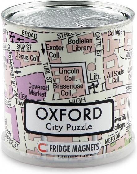 Channel Distribution magneetpuzzel City Puzzle Oxford 100 stukjes