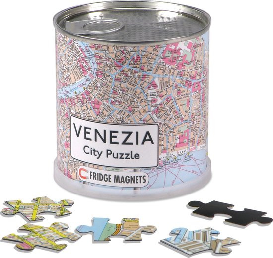 Channel Distribution magneetpuzzel City Puzzle Venezia 100 stukjes