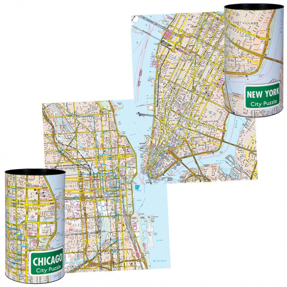 Channel Distribution City Puzzle New York