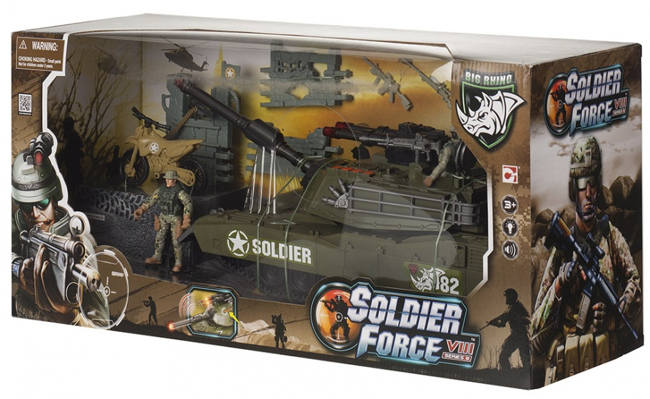 Soldier Force 9 Elicottero : Chap mei soldier force viii destroyer tank internet toys