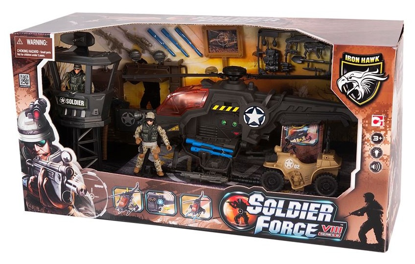 Soldier Force 9 Elicottero : Chap mei soldier force viii heliblaster helikopter
