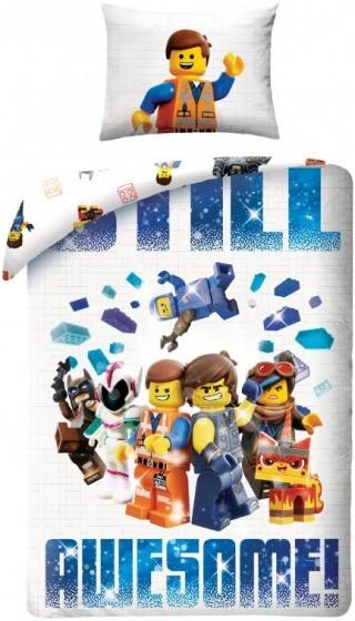 Lego Movie 2 dekbedovertrek Action Multi 1-Persoons 140x200 cm