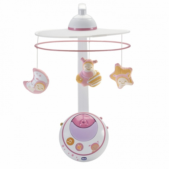 Chicco Mobile Magic Star Roze (002429.10)