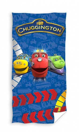 Chuggington badlaken arrows: 70x140 cm