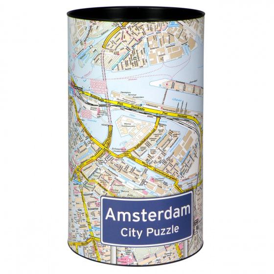 City Puzzel legpuzzel Amsterdam landkaart 500 stukjes