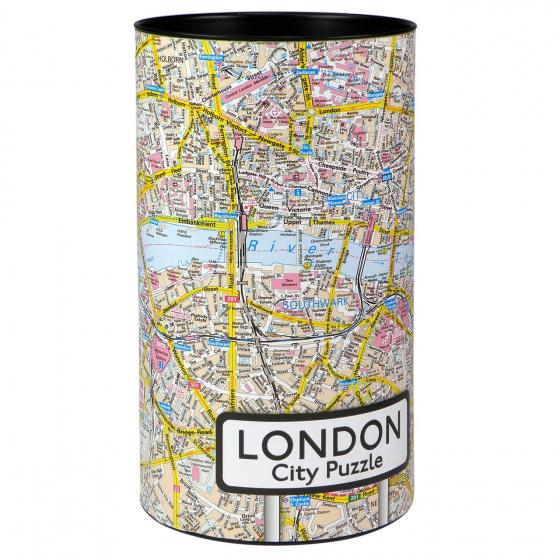 City Puzzel legpuzzel Londen landkaart 500 stukjes