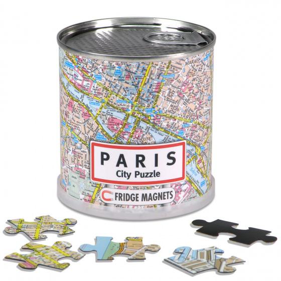 City Puzzel magnetische puzzel Parijs 100 stukjes