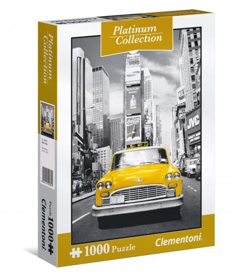 Clementoni legpuzzel Platinum Collection New York taxi 1000 stukjes