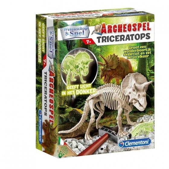 Clementoni Archeospel Triceratops fluor7