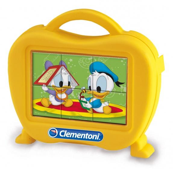 Clementoni blokkenpuzzel Baby Cubes 6 Disney Babies 6 blokken