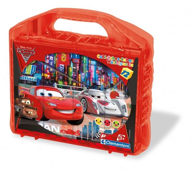Cars 2 Blokpuzzel 12 dlg