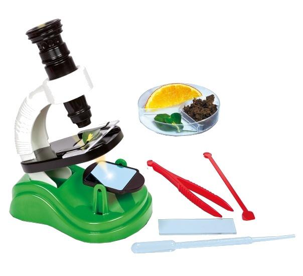 Clementoni Bouw zelf jouw eerste Microscoop junior 15 delig