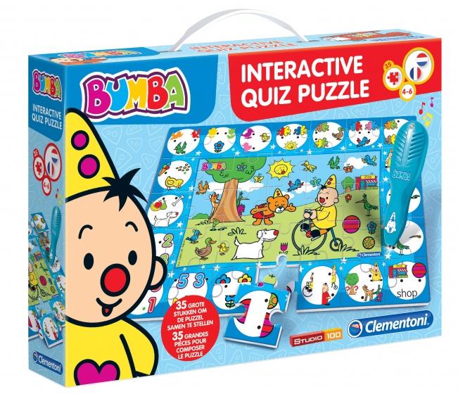 Clementoni Bumba interactieve puzzelquiz 35 delig