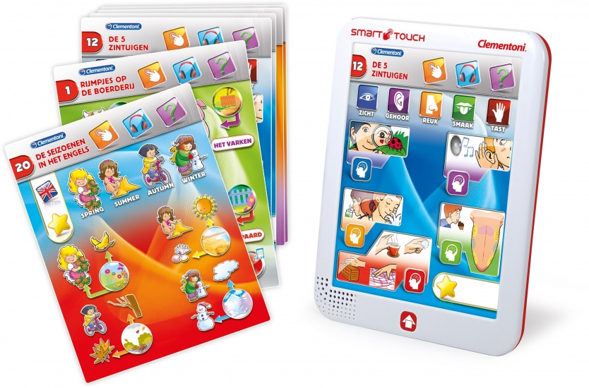 Clementoni Cards Touch Tablet junior 21 delig