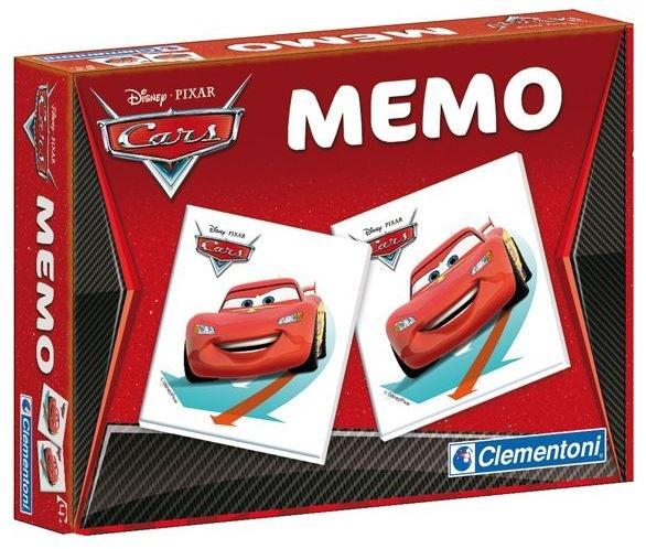 Clementoni Cars memory spel 48 kaarten