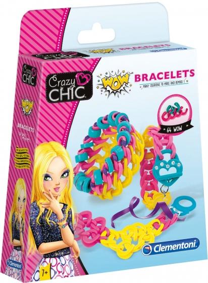 Clementoni Crazy Chic elastiek knutselset Armbanden