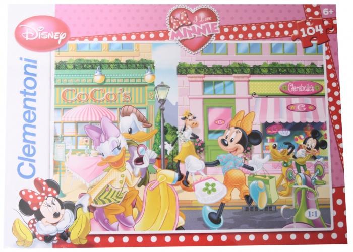 Clementoni Disney Puzzel Minnie 104st
