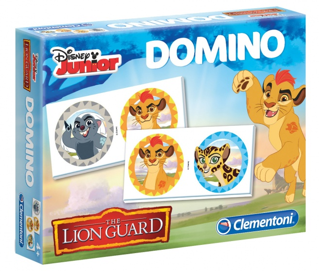 Clementoni domino The Lion Guard 28 delig