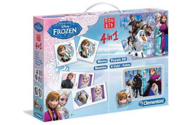 Clementoni Frozen super kit 4 in 1 spellen