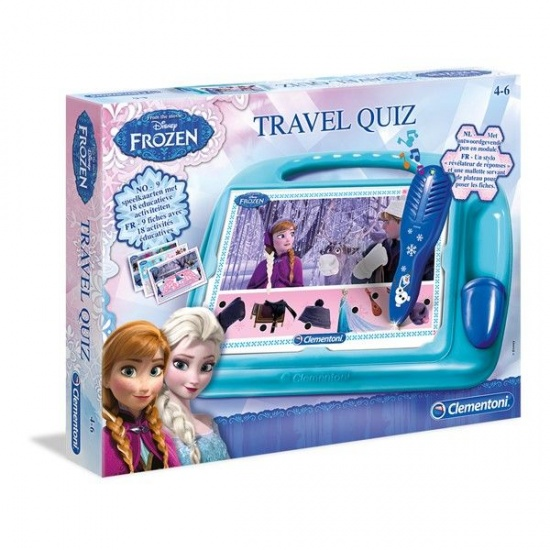 Clementoni Frozen travel quiz