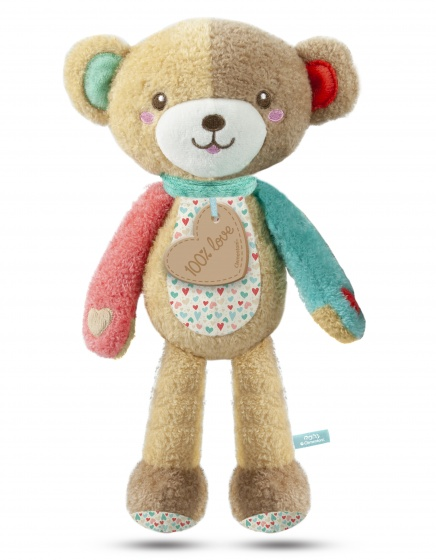 Clementoni knuffelbeer Play With Me bruin 32 cm