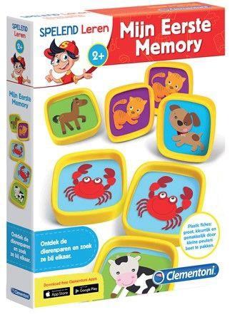 Clementoni Leerspel eerste Memory