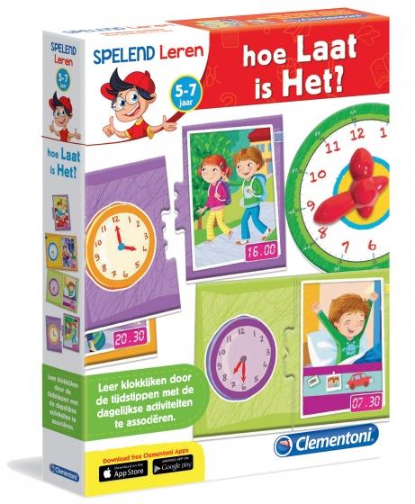 Spelend leren - Hoe laat is het?
