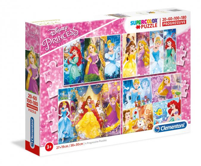Princess Puzzel 20-60-100-180