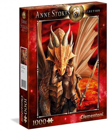 Clementoni legpuzzel Anna Stokes Inner Strength 1000 stukjes