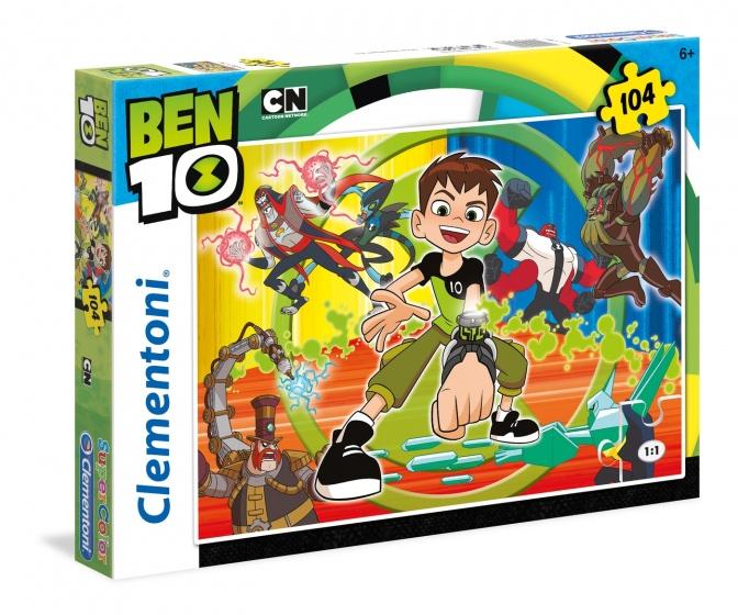 Clementoni legpuzzel Ben Ten 104 stukjes