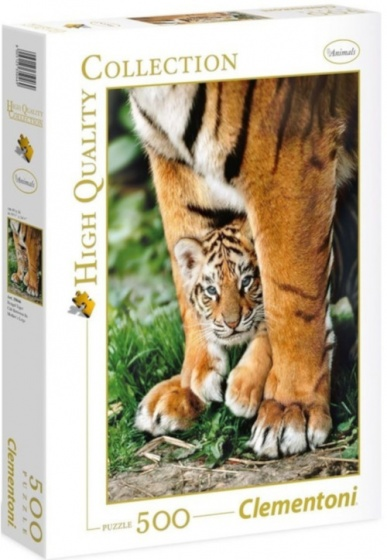 Clementoni legpuzzel Bengal Tiger 500 stukjes