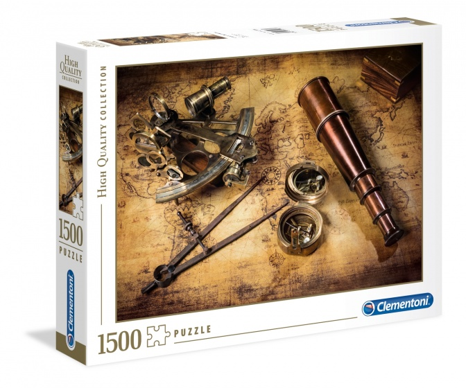 Clementoni legpuzzel Course to the Treasure 1500 stukjes