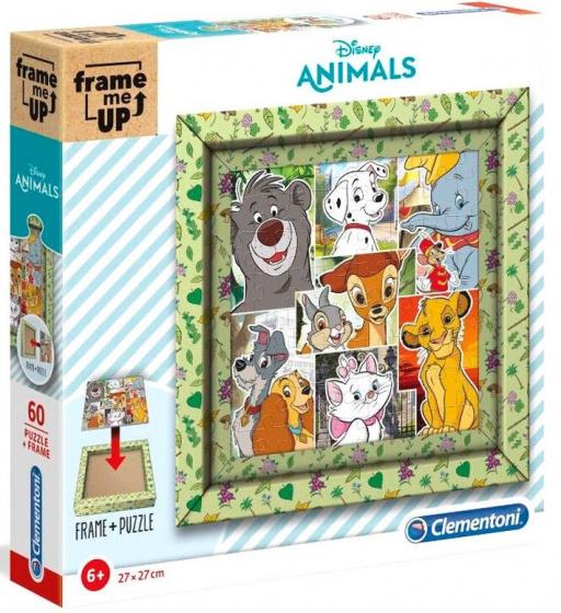 Clementoni legpuzzel Disney Animals junior 27 cm karton 61 delig